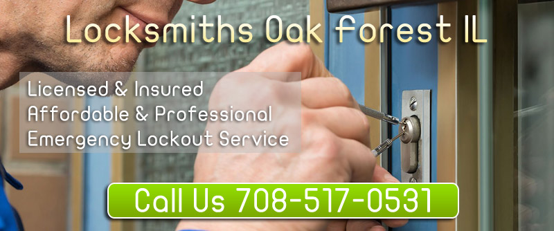 Locksmiths Oak Forest IL  banner