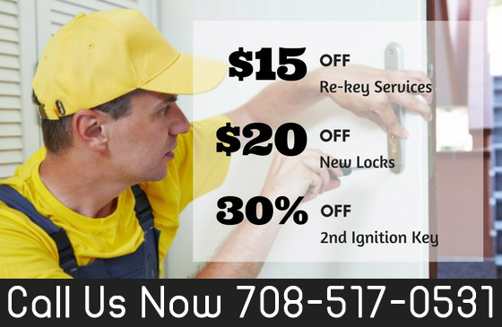 Locksmiths Oak Forest IL  Coupon